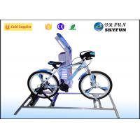 Amusement Center Virtual Reality Bike / Sporting 9D VR Bicycle With Cool Game Manufactures