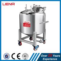 China 50-10000L SS316, SS304 Stainless Steel Sealed Storage Tank with pressure on sale