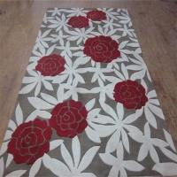 New Zealand Wool Area Rugs 9x12 Hand Embossed Wintersweet Pattern Manufactures