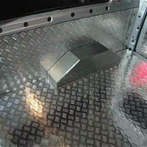China Five Bar 5754 Aluminium Checker Plate Diamond Pattern Aluminum Sheet Anti - Skid on sale