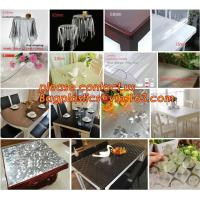 Disposable Tablecloths Plastic Tablecloths Thicken Tablecloths White Film Transparent Waterproof Table Cloth BAGEASE Manufactures