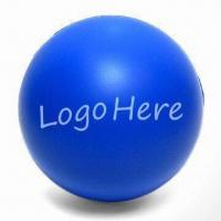 Round Stress Ball, Measures Ø70mm, Available in Various Colors Manufactures