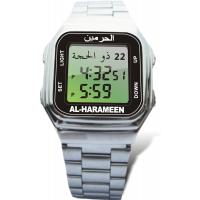 Rectangular stainless steel polished case, bracelet Islamic Prayer Watches, Stop Watch Manufactures