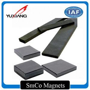 China Strong Sintered Samarium Cobalt Magnet Custom Shape For Magnetic Hooks on sale