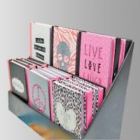 Custom Leather Softcover Notebook Printing Services / Customized Calendar Printing Manufactures