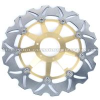 Strong Sunstar Motorcycle Brake Rotors Light Weight With Outside Diameter 296mm Manufactures