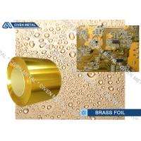 H65 High Precision Standard Copper Alloy Brass Sheet Metal For Conductive Manufactures