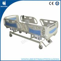 4 Part Steel Bedboards Electric Hospital Beds Adjustable With Linak Motor Manufactures