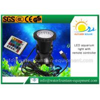 LED Color Changing Submersible Aquarium Light , Fountain Light With Remote Controller Manufactures
