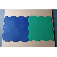 China Color Customized EPDM Rubber Sheet ,Rubber Interlocking Mats on sale