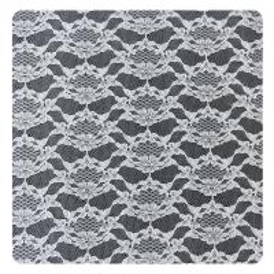 White Thin Plain Flower 100% Nylon Net Mesh Lace Fabric 1.5 - 1.55m Width Manufactures