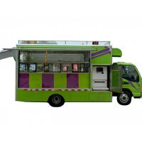 JAC Multi Function Mobile Kitchen Truck / Movable Food Catering Truck Manufactures