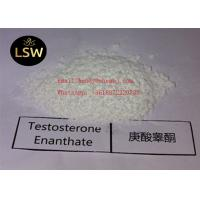 99% White Raw Steroids Powder Testosterone Anabolic Steroid Testosterone Enanthate CAS 315-37-7 For Weight Loss Manufactures