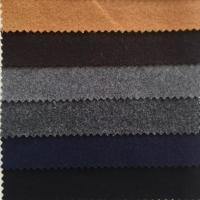 Graceful Color Wool Melton Fabric Soft Hand Feeling Fit Women / Men'S Garment Manufactures