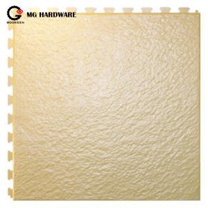 Anti slip PVC Interlocking Plastic Garage Floor Mats Waterproof 6.5mm Thickness