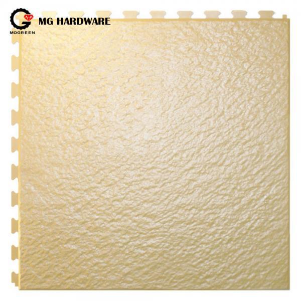 Quality 6.5mm /7mm Black Anti Slip Rubber PVC Sheet Diamond Rubber Floor Mats for Garage for sale