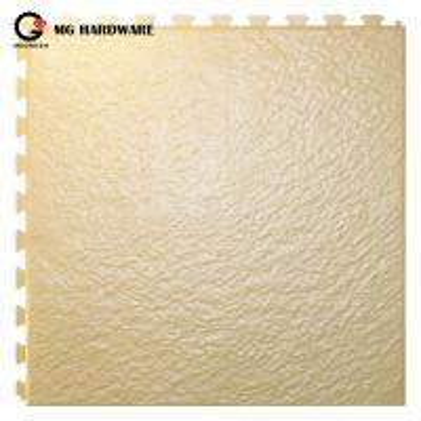 Quality Anti slip PVC Interlocking Plastic Garage Floor Mats Waterproof 6.5mm Thickness for sale