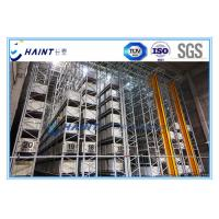 Intelligent Automated Storage Retrieval System , AS RS Automated Pallet Racking Systems Manufactures