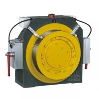 20 Poles Gearless Traction Machine For Lifts / Elevator , 1150kg MINI-3 Manufactures