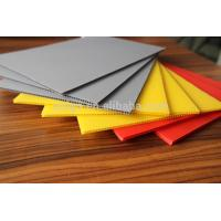 Fluted plastic sheet, white corrugated plastic, coroplast sheets 4x8 Manufactures