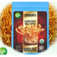 China wholesale instant cordyceps iced coffee powder slimming coffee with high efficiency custom clearance on sale