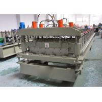China YX25-200-1000 Automatic Roof Panel Roll Forming Machine / Glazed Tile Making Machine on sale