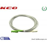 Rodent-resistant E2000 to SC simplex armored fiber optic patch cables armoured cord jumper Manufactures