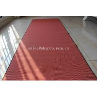 China Gym Exercise Soft EVA Foam Sheet Textile Fitness Yoga Mat NBR Closed Cell Mats on sale