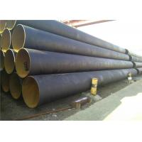 Big Inch Thin Wall Spiral Steel Pipe SSAW 3PE / 3LPE / FBE/ Epoxy Coated Manufactures