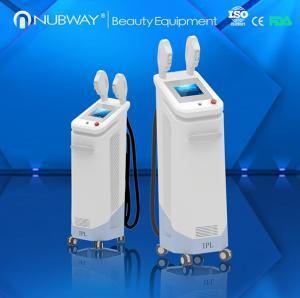 CE proved New Design High Technology Fast hair removal& skin rejuvenation IPL SHR machine