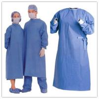 Pp Sms Spunbonded Disposable Sterile Gowns Breathable With Customized Logo Manufactures