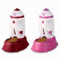 China Patented Auto Pet Feeders, Unplugged, Eco-friendly, Suitable for Pup and Kitty on sale