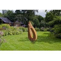 Forged Steel Sculpture Corten Steel Product As Holiday Resort Ornament Manufactures
