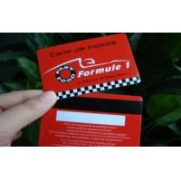 China PVC Magnetic Strip Card on sale