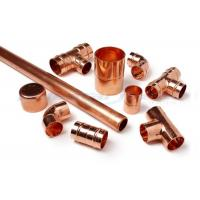 3 Way Cross Coupling Straight Tap Connector , 1/4 Inch Copper End Feed Fittings Manufactures