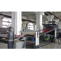 ABS Sheet / Plastic Roof Sheet Making Machine High Efficiency 3000mm width Manufactures