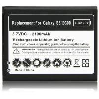 Replacement mobile phone battery for Samsung Galaxy SIII /I9300 3.7V 2100MAH Manufactures
