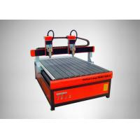 High Speed CNC Router Machine 4 Heads Square Rail Multi - Spindle Engraver Manufactures