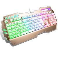 Anti Ghosting PC Gaming keyboard Aluminum Alloy Panel Waterproof FCC CE ROHS IP Manufactures