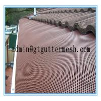 Powder Coated Aluminium Gutter Mesh For Sale Of Gaitewiremesh