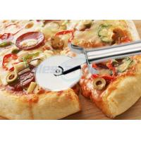Quality Round Pastry Stainless Steel Pizza Cutting Knife Multi Functional Heavy Duty for sale