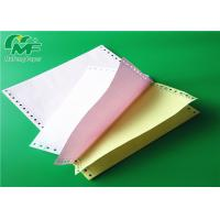 China Colored Carbon Sheet 2 Ply Carbonless Laser Paper Roll For Commercial Office Paper on sale