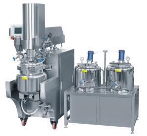 Cream / Skin Care Cream Homogenizing Vacuum Emulsifying Machine 200L Manufactures