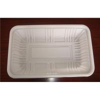 Quality PET Tray  plastic container disposable blister transparent clear degradable tasteless no-harm for sale