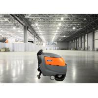 FS213 Hand Held Commercial Floor Cleaners Scrubbers Double Brush Big Volume Manufactures