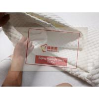 China 100% Polyester Fitted Style Queen Bed White Waterproof Mattress Cover on sale