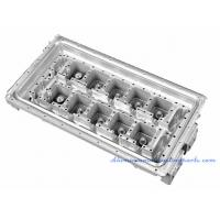 Sand Blasting Aluminium Die Castings Copper Pipe Heat Sink For Electrical Cabinet Manufactures