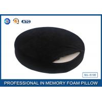 Lovely High Density Round Memory Foam Seat Cushion / Memory Foam Dining Chair Pads Manufactures