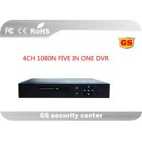 Five In One 4ch 1080p Cctv Hd Dvr / Cctv Video Recorder With 3520d V200+6134c , Unreal Time Manufactures
