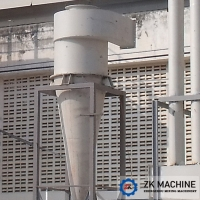 China Simple Operation Dust Collection Equipment , Small Cyclone Dust Collector on sale